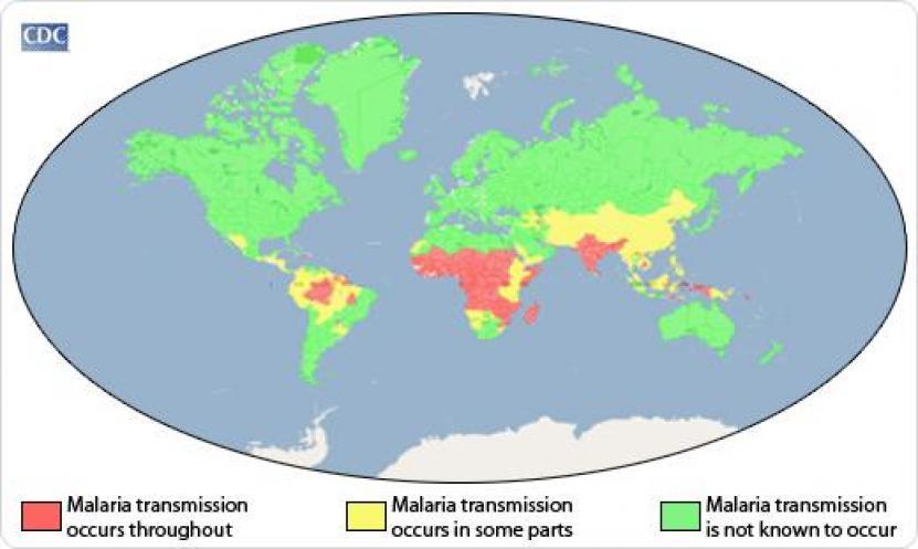 malaria gebieden sri lanka