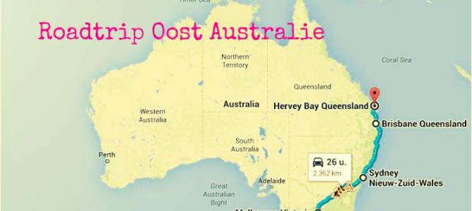 Roadtrip Oost Australie