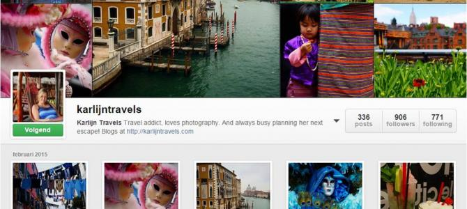 Favoriete travel Instagram accounts