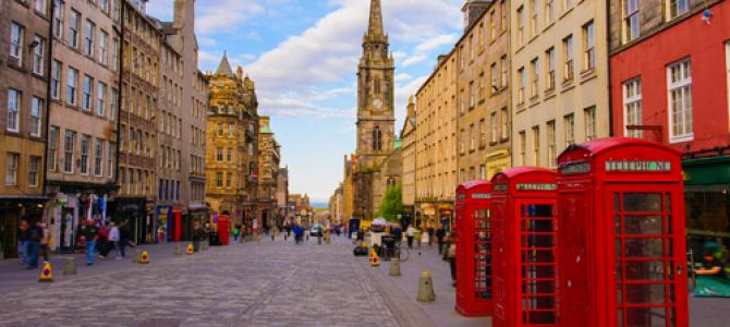 Duo stedentrip Edinburgh & Glasgow on a budget