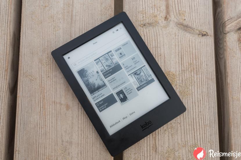 Review voor backpackers; de Kobo Aura H20 e-reader » Reismeisje